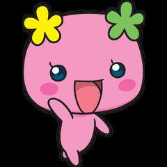 Flowertchi waving