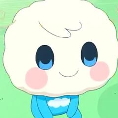 Lovesoratchi's toddler form in the anime