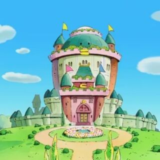 The castle's appearance in <a href=