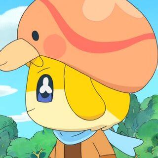 Takoballoontchi as a cap