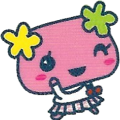 Violetchi wearing a school uniform