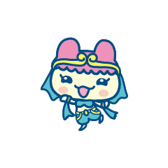 Chamametchi wearing Arabian clothing
