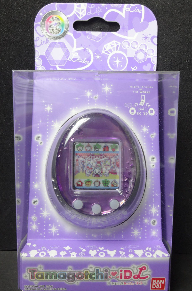 New Bandai Tamagotchi iD L Pink Japan