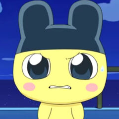 An angry Mametchi