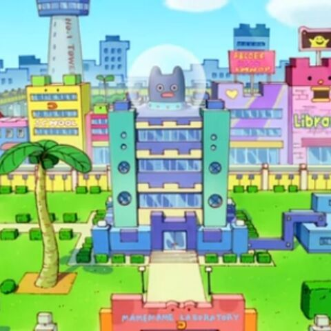 The Mamemame Laboratory in <i>GO-GO Tamagotchi!</i>