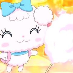 Yumecantchi with cotton candy