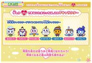 Tamagotchi mix station winter characters