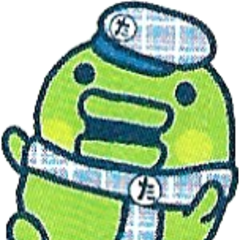 Kuchipatchi wearing a school uniform