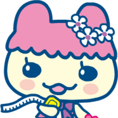 Chamametchi as a fashionista