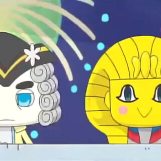 Pharaotchi in the anime
