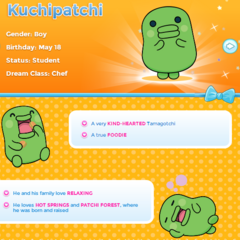 Kuchipatchi's Profile on TamagotchiFriends.com