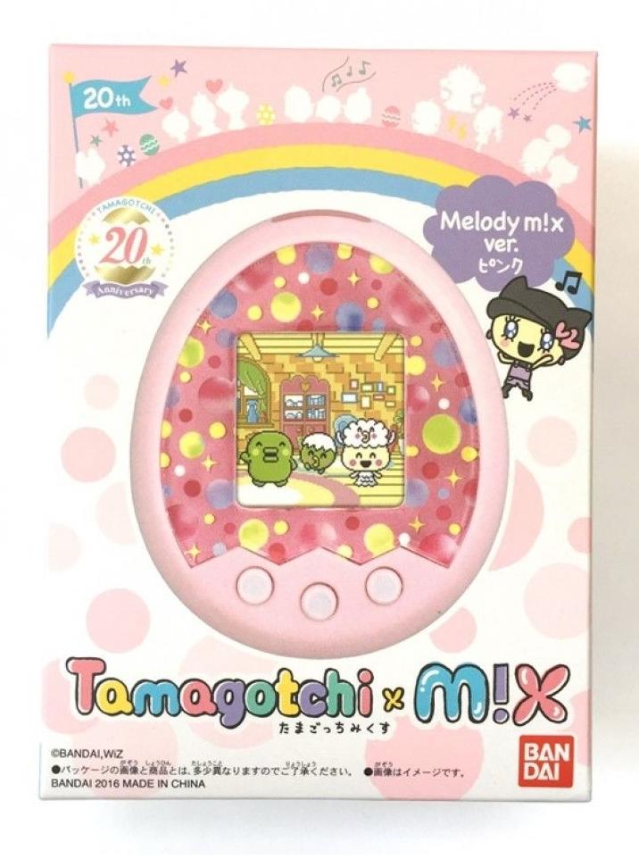 X Ver X Tamagotchi Mix Dream M Pink Tamagotchi M