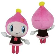 Front and back of Himespetchi plush