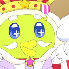 Pipospetchi in a king costume