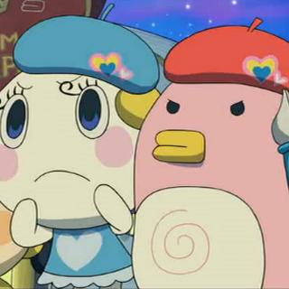 Ekakitchi and Ciaotchi in Tamagotchi: The Movie
