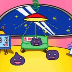 The second UFO's interior