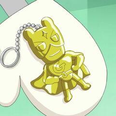 A Gotchiman key chain