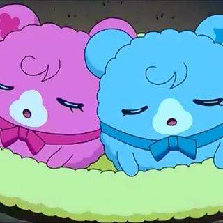 Doremitchi and Sopratchi sleeping