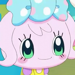 Candy Pakupaku's first appearance.