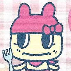 Mamametchi in a manga panel from <a href=