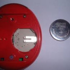 A Connection model's battery compartment.