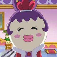 Gotchi Queen in the anime.