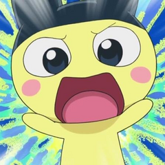 Mametchi screeching