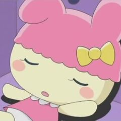 Chamametchi falling asleep