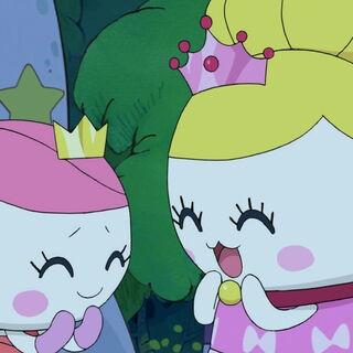 Princess Tamakoko with Princess Tamako