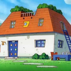 Mametchi's house in <i><strong class=