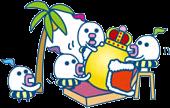 Servants king vacation