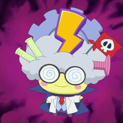 Mametchi's evil scientist costume