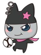 Kuromametchi soccer ball