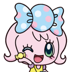 Anime artwork of Candy Pakupaku
