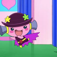 Violetchi dressed as the Jigokumi Minger