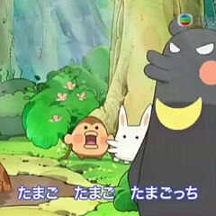 Beartchi in one of Tamagotchi!'s opening themes