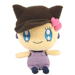 A Melodytchi plush toy
