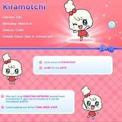 Kiramotchi's Profile on TamagotchiFriends.com