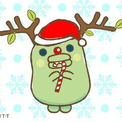 <i>Sorette, Kuchipatchi.</i> artwork of Kuchipatchi as a reindeer