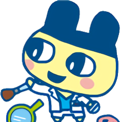 Mametchi as a makeup artist