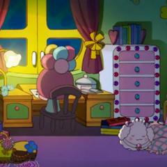 Giragiratchi's room