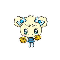 Kiraritchi as a cheerleader