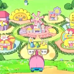 Flower Hills from the anime show, Tamagotchi!.