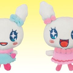 Plushes of Lovelitchi and Lovelin