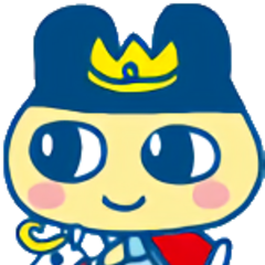 Mametchi as a prince