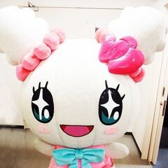 Official mascot costume for Tama Heart Lovelitchi