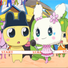 Lovelin and Mametchi meet for the first time