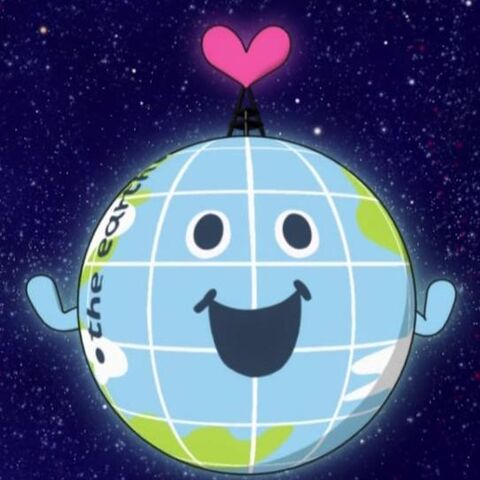 The Earth in the anime