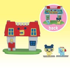 A toy version of Mametchi's house