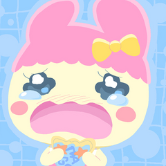 Chamametchi Being Upset with Shield when Trying to Give Her Parents A Hug.